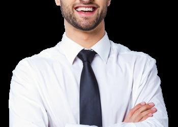 Handsome Businessman Smile