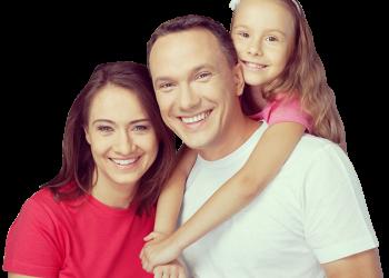 Happy Smiling Family Portrait