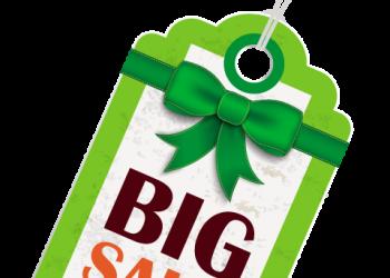 Green Big Sale Hang Tag