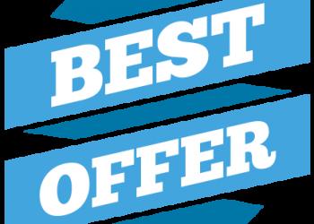 Best Offer Blue label tag