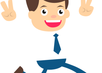 happy businessman hands raised up 1designshop rh 1designshop com