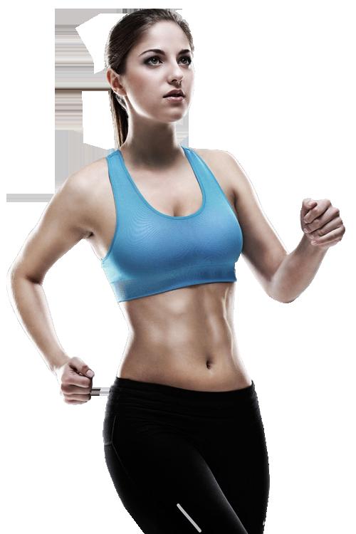 Sport Running Fitness Woman Jogging. Woman fitness jogging workout ...