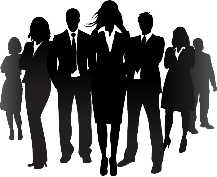 Business team silhouette | Free Stock Photos – 1designshop