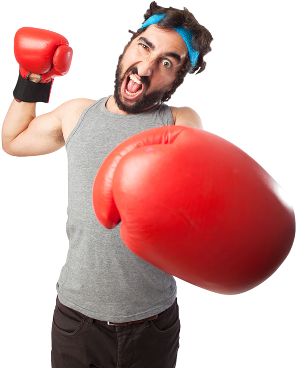 funny man with boxing gloves 1designshop boxing gloves clipart silhouette boxing gloves clip art images