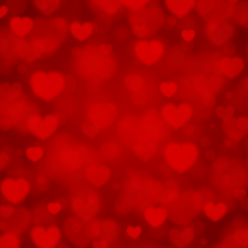 Red Hearts Valentines Day Background 1designshop