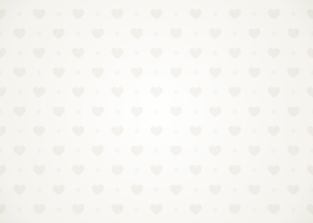 Grey Heart Pattern On White Background