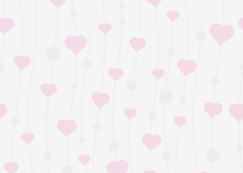 Simple pink heart pattern Background