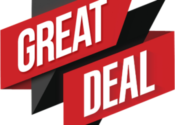 Great deal today sign